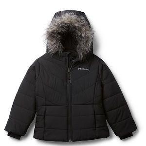 columbia youth snow winter jacket black ski